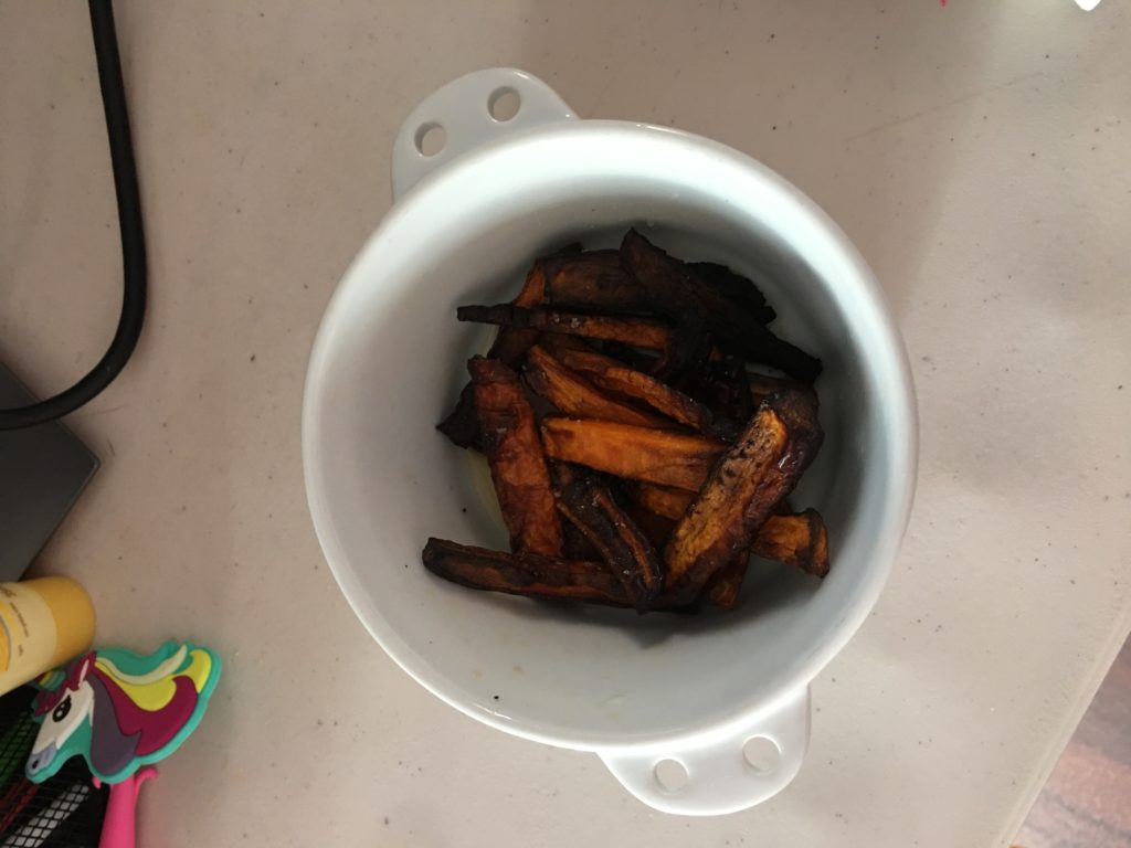 Carrots - air fried